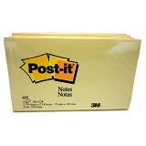 3M Post-It Notes [655] 4pcs - Sticky Note